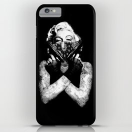 Marilyn Swag iPhone Case