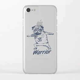 Be a Warrior Clear iPhone Case