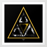 illuminati Art Prints featuring Illuminati by Haych