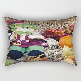 Little Miss Scarecrow Rectangular Pillow