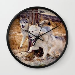 The Kingdom belongs to these Wall Clock