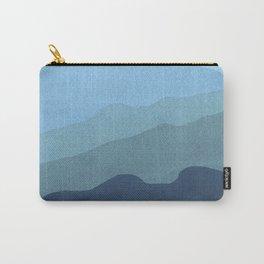 Landscape Blue Carry-All Pouch