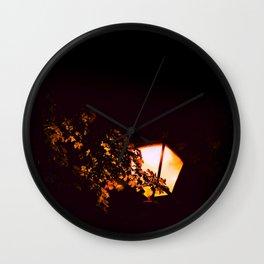 Night light - an illustrated poem Wall Clock
