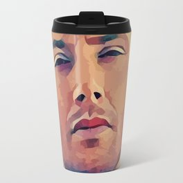 Watching the angel Travel Mug
