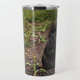 Black Squirrel Travel Mug