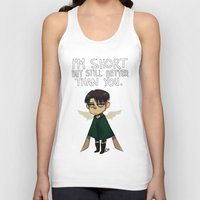 snk Tank Tops featuring Heichou by lemonteaflower