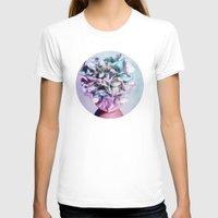 hydrangea T-shirts featuring HYDRANGEA HEART by VIAINA