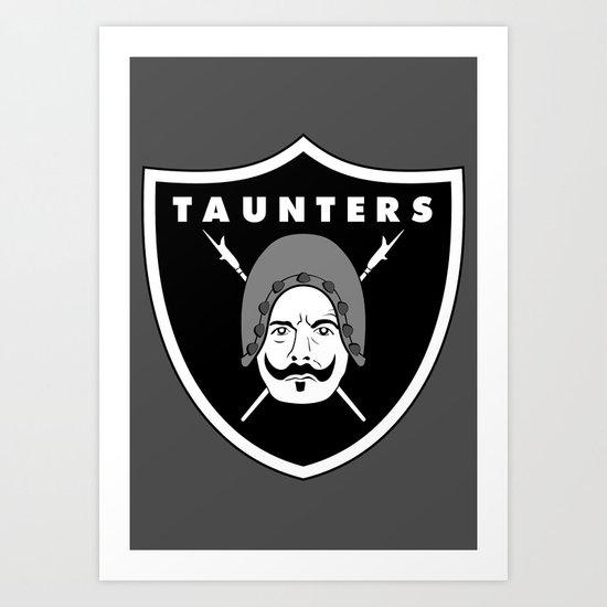 Taunters Art Print