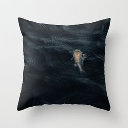 Dead fish Throw Pillow