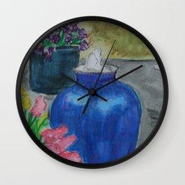 Eileen's Fountain WC151209a-04 Wall Clock