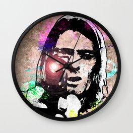K. Cobain Grunge Wall Clock
