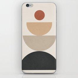 Geometric Modern Art 31 iPhone Skin