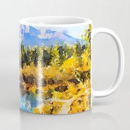 Mountain Watercolor Coffee Mug
