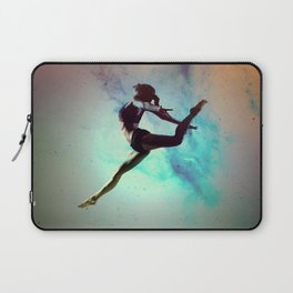 Ballet Dancer Feat Lady Dreams Abstract Art Laptop Sleeve