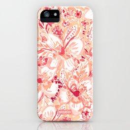 HIYA HIBISCUS Tropical Floral iPhone Case