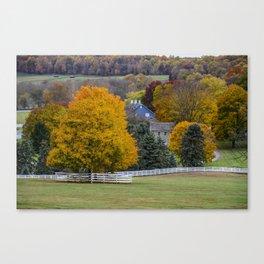 Family Homestead Canvas Print
