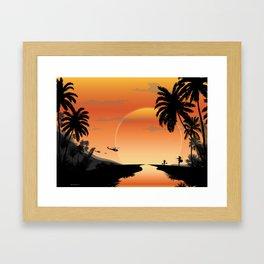NAM 1 Framed Art Print