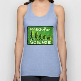 March For Science Unisex Tank Top