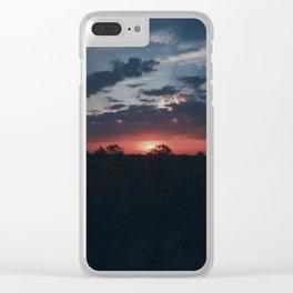 Berlin Sunrise Clear iPhone Case