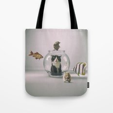 Curiosity killed the cat Tote Bag
