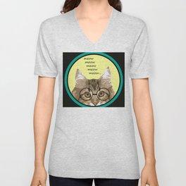 Meow, Meow, Meow, Meow, Meow... Unisex V-Neck
