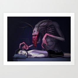 Boogeyman Art Print