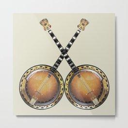 Duelling Banjos Metal Print