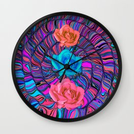 Coiled Up Wall Clock