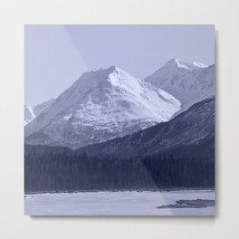 Tern Lake - Mono 1 Metal Print