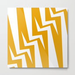Stairway Series - Orange Metal Print