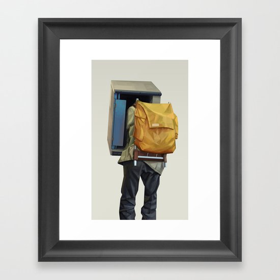 Booth Framed Art Print
