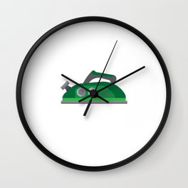 Wife Laundry Ironing Clothes Iron Wives Humorous This Is My Only Plane Shirt Funny Gift Wall Clock