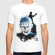 Pinhead: Monster Madness Series  Mens Fitted Tee White MEDIUM