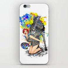 Colorphobia iPhone & iPod Skin