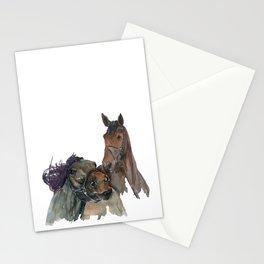 Horses #3 Stationery Cards