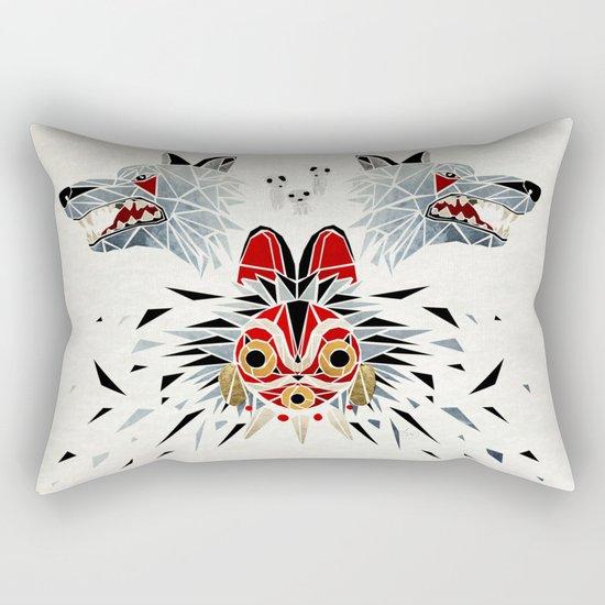 mononoke princess Rectangular Pillow