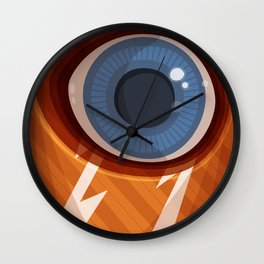 I, Eye Wall Clock