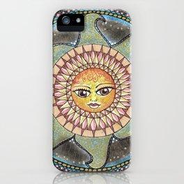 Nature's Sun iPhone Case