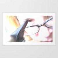 Cat's Eye Art Print