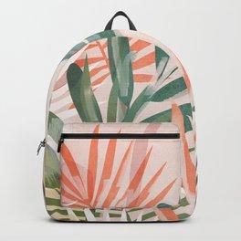 Tropical Leaves 4 Backpack