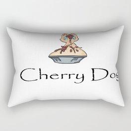 Cherry Dog Rectangular Pillow