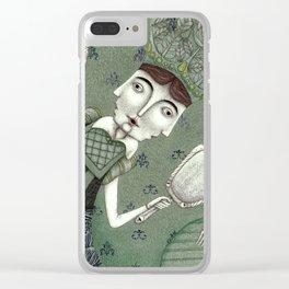 Schneewittchen-The New Queen Clear iPhone Case