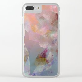 Camouflage XVI Clear iPhone Case