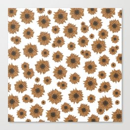 Small Sunflowers Canvas Print