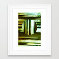 the strokes Framed Art Prints featuring Strokes by CCL Works