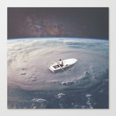 Rowing the Cosmos Canvas Print
