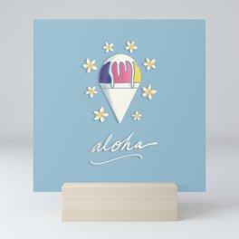 Aloha Shave Ice Mini Art Print