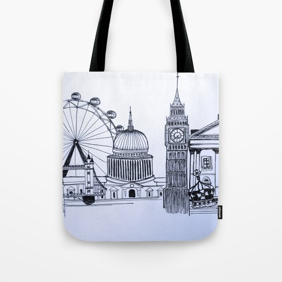You sound like you're from London Tote Bag