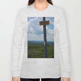 Hubbard Hill New Hampshire Long Sleeve T-shirt