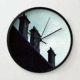 Redfern Chimneys Wall Clock